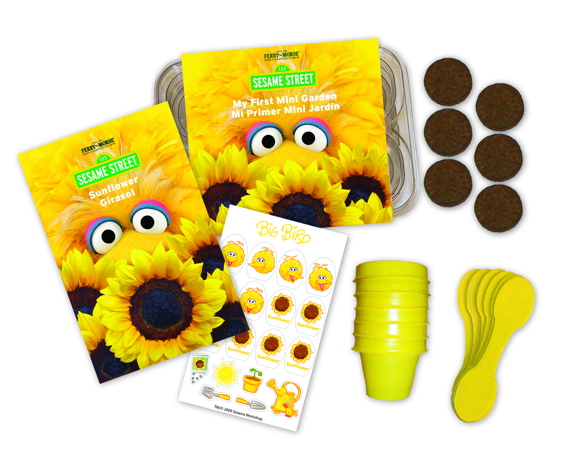 Sesame street introduces new gardening line the next kid for Gardening kit for toddlers