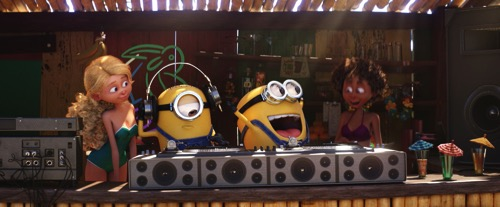 2458 MINIONS AS DJS BONUS 01R