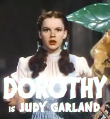 Judy Garland in The Wizard of Oz trailer