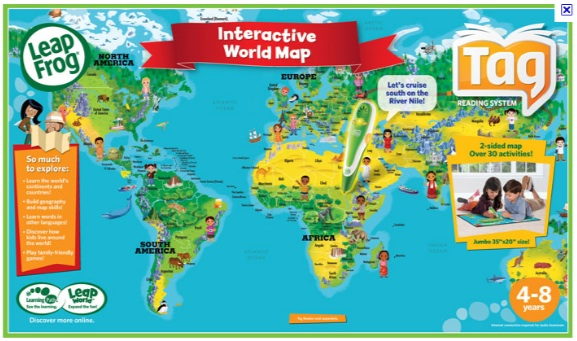 Snowy days mean more game play the next kid thing leapfrog interactive map gumiabroncs Choice Image