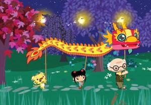 Ni Hao, Kai-lan (Wii) Dragon Parade