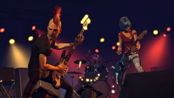 RockBand GameplaynoHUD