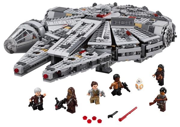 Lego star wars force awakens millennium falcon 1