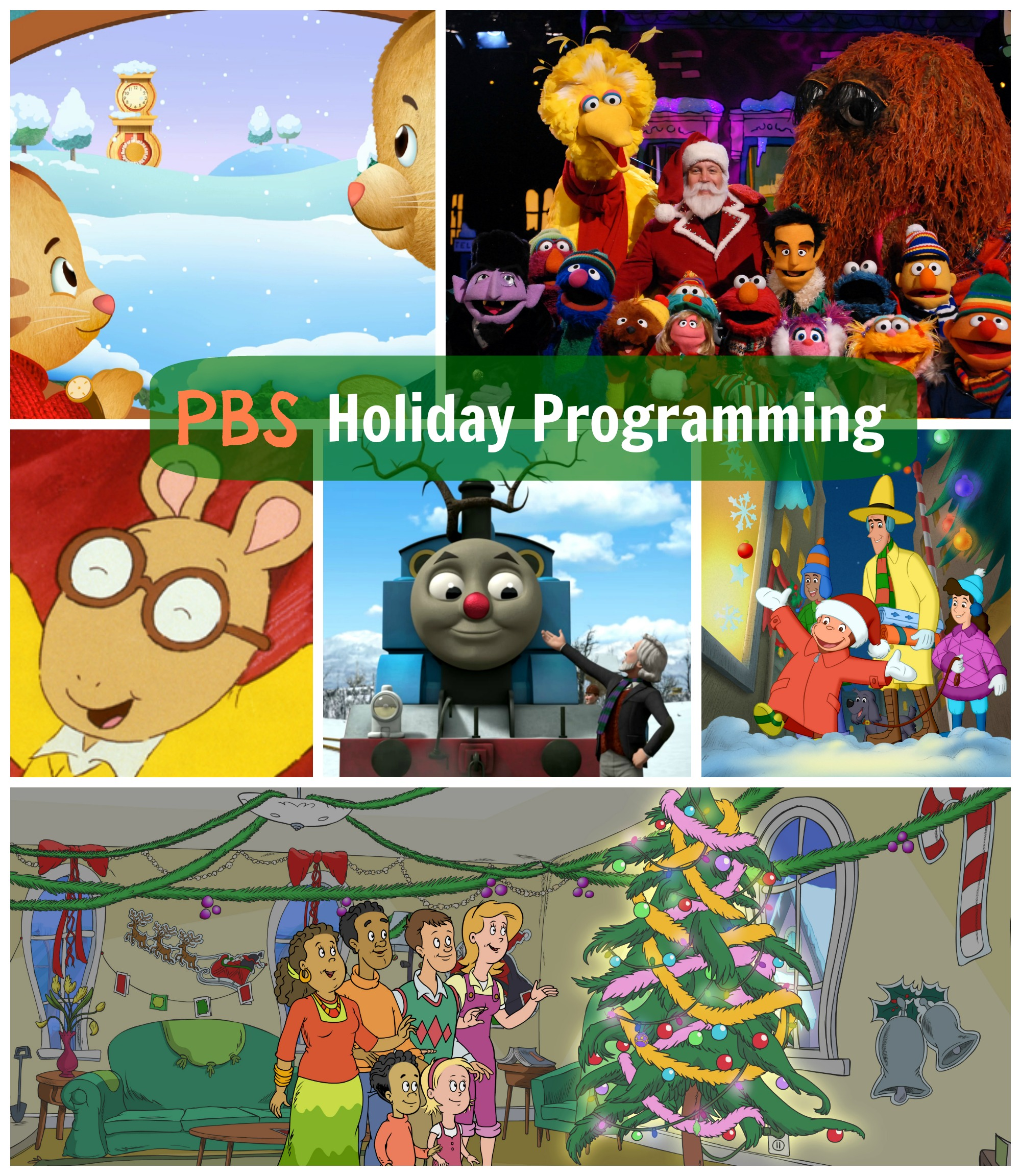 PBS Kids 2013 Holiday Programming – The