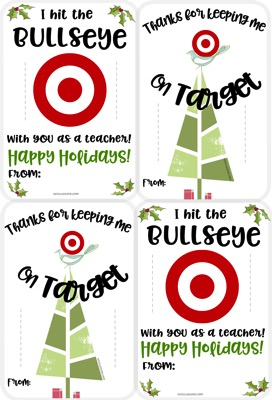 image relating to Printable Target Gift Card known as No cost Getaway Concentrate Giftcard Printables The Up coming Boy or girl Issue